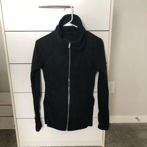 Lululemon Black zip up Size 4